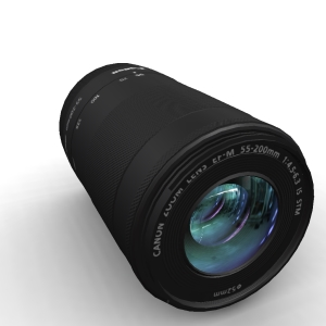 Canon EF-M 55-200mm 4.5-6.3 IS STM