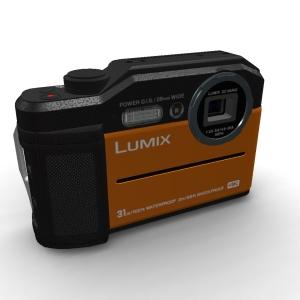 Panasonic Lumix {DC-FT7}{DC-TS7} Orange
