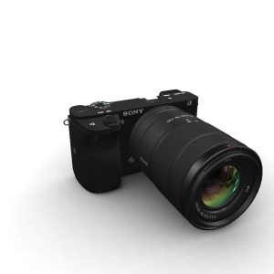 Sony Alpha A6400 18-135mm Kit Black