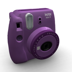 Fujifilm Instax Mini 9 Clear Clear Purple