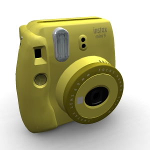 Fujifilm Instax Mini 9 Clear Clear Yellow
