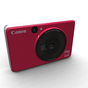 Canon IVY CLIQ Lady Bug Red
