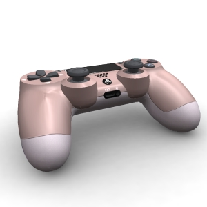 Sony Dualshock 4 Rose Gold