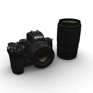 Nikon Z 50 16-50mm and 50-250mm Kit