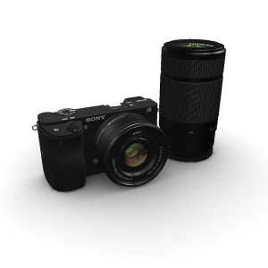 Sony A6100 16-50mm and 55-210mm Kit Black