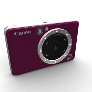 Canon IVY CLIQ Plus Ruby Red