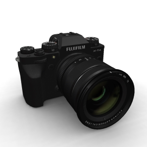 Fujifilm X-T4 16-80mm Kit Black
