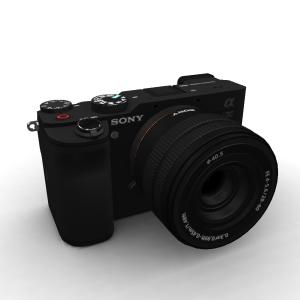 Sony Alpha A7C 28-60 Lens Kit Black