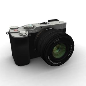 Sony Alpha A7C 28-60 Lens Kit Silver