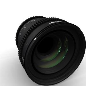 Samyang VDSLR 50mm T1.5 MK2 for Canon EF