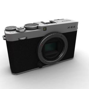 Fujifilm X-E4 Body Only Silver
